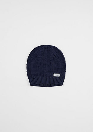 Mütze aus Grobstrick