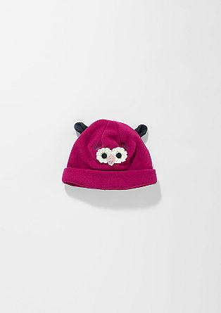 Mütze mit Eulen-Patch