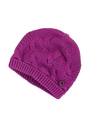 Mütze mit hübschem Strickmuster