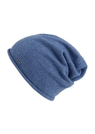Mütze mit Kaschmir und Seide
