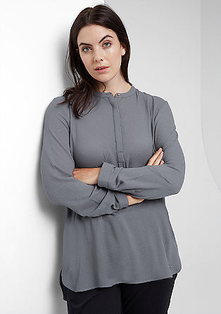 Mullet-style crêpe blouse from s.Oliver