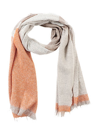 Multi-coloured scarf from s.Oliver