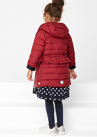 Multi-functional quilted coat from s.Oliver