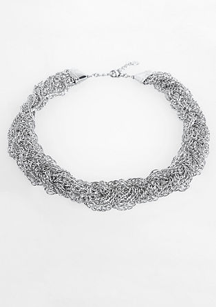 Multi-strand braided necklace from s.Oliver