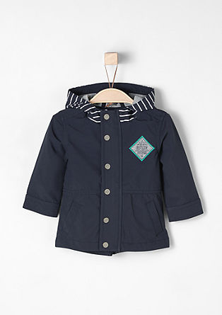 Multifunctional softshell coat from s.Oliver