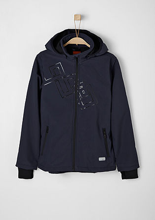 Multifunctional softshell jacket from s.Oliver