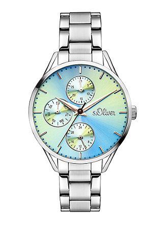 Multifunktions-Uhr mit Farbverlauf