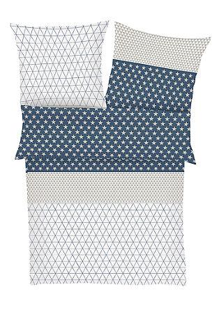 Muster-Bettwäsche aus Mako-Satin