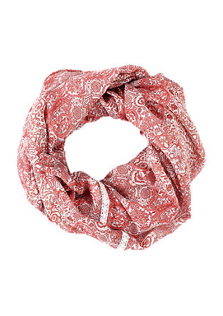 Muster-Loop mit Crochet-Borte