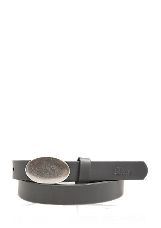 Narrow leather belt from s.Oliver