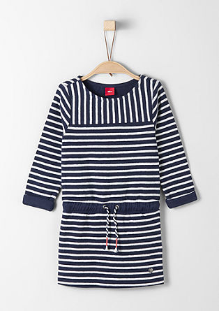 Nautical knit dress from s.Oliver
