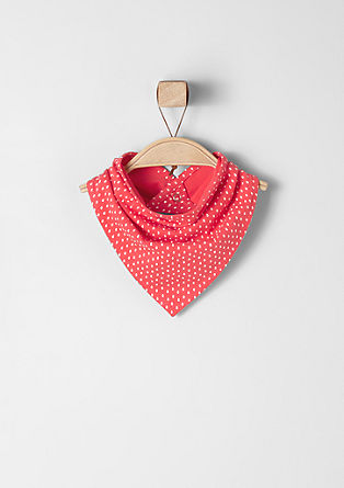 Neckerchief with a strawberry print from s.Oliver