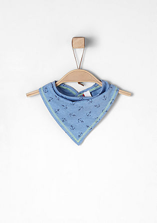Neckerchief with anchor print from s.Oliver