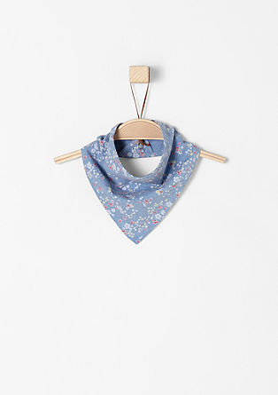 Neckerchief with flowers from s.Oliver