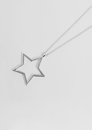 Necklace with a star pendant from s.Oliver