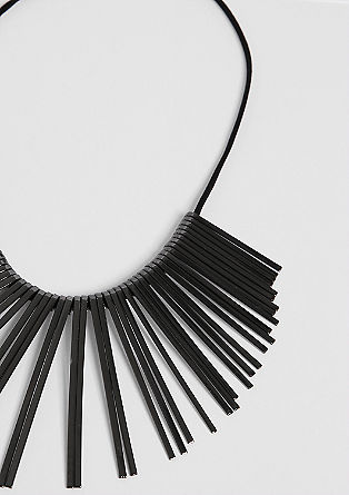 Necklace with metal rods from s.Oliver