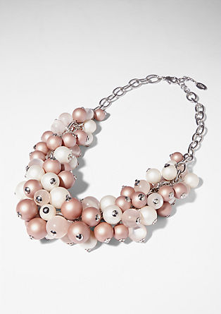 Necklace with plastic beads from s.Oliver