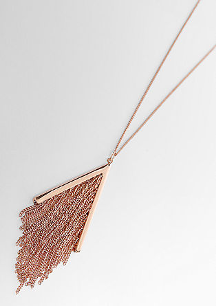Necklace with tassel pendant from s.Oliver
