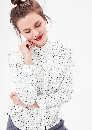 Nežna bluza z zvezdicami