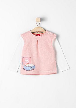 Niedliches Shirt im Layer-Look