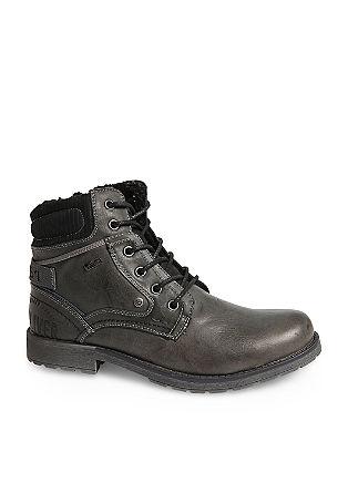 Nizki škornji Tex iz mešanice materialov