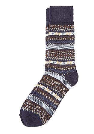 Norweger-Socken mit Kaschmir