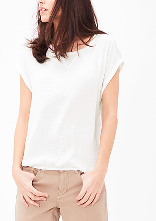 O-shaped blouse top from s.Oliver