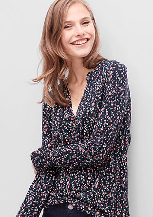O-shaped printed blouse from s.Oliver