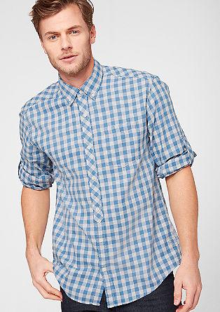 Običajna velikost: Karirasta srajca