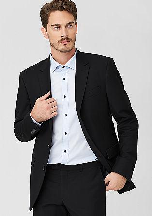 Običajna velikost: Sako iz tweeda in strižne volne
