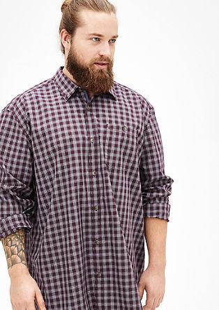 Običajno: karirasta srajca