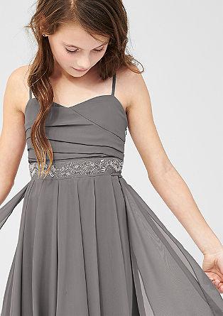 Obleka iz šifona z okraski