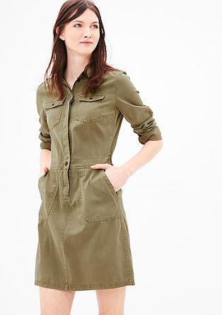 Obleka v urbanem safari videzu