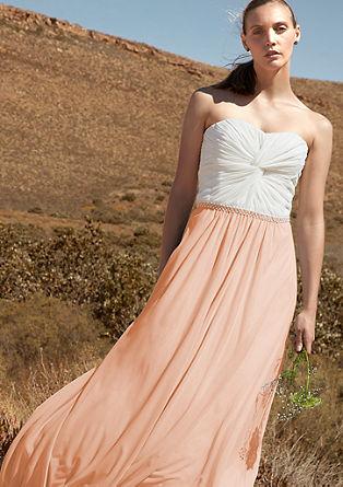 Off-the-shoulder evening dress from s.Oliver