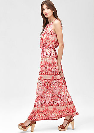 Off-the-shoulder maxi dress from s.Oliver