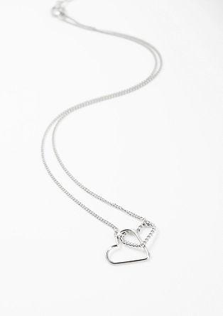 Ogrlica s povezanima srcema