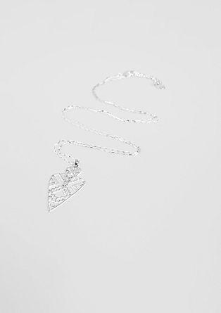 Ogrlica z obeskom geometrične oblike