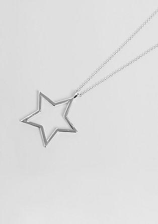 Ogrlica z obeskom v obliki zvezde