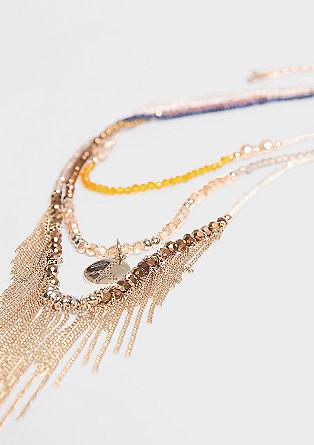 Ogrlica z okrasnimi kamni