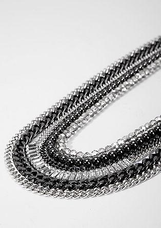 Ogrlica z različnimi verižicami