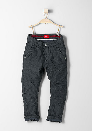 Ohio: herringbone trousers from s.Oliver