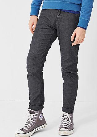 Ohio: herringbone trousers from s.Oliver