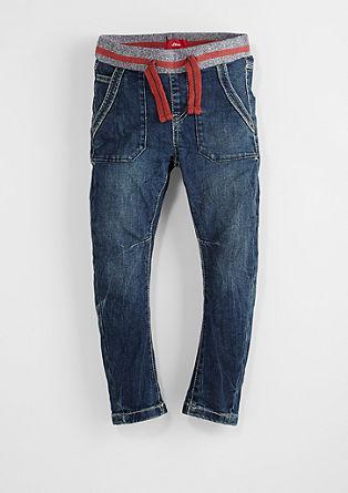 Ohio: Udobne temne jeans hlače