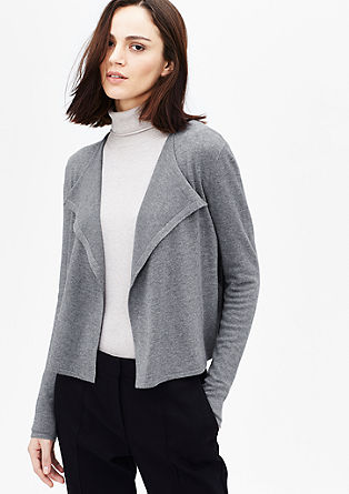Open knit viscose cardigan from s.Oliver