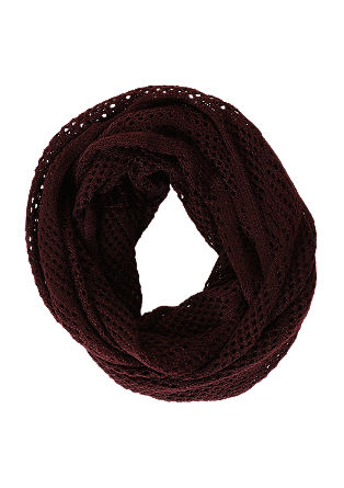 Openwork knit snood from s.Oliver