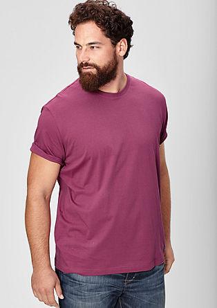 Osnovna majica z okroglim izrezom