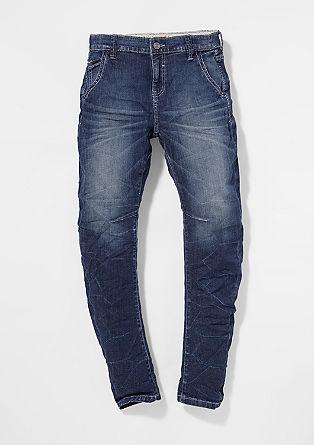 Otis: Jeans mit Crinkle-Effekt