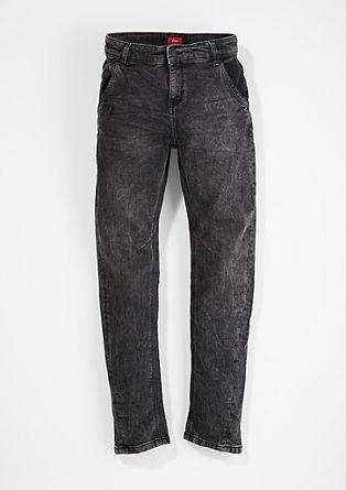 Otis Relaxed: barvno usklajene sive jeans hlače