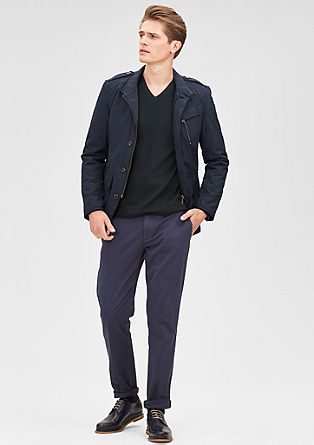Outdoor jacket in a nylon look from s.Oliver