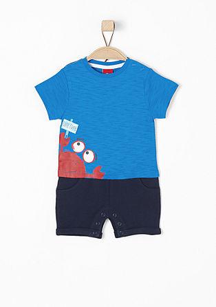 Overall im Shirt-Hosen-Look